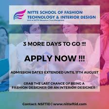 Nitte School Of Fashion Technology And Interior Design Nsftid Bangalore Images Photos Videos Gallery 2020